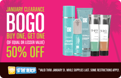 JANUARY CLEARANCE LOTION BOGO