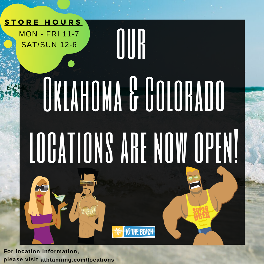 Oklahoma and Colorado Salons Are Open! - Click on Get Coupon to See Hours